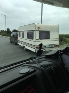 This is identical to our old caravan